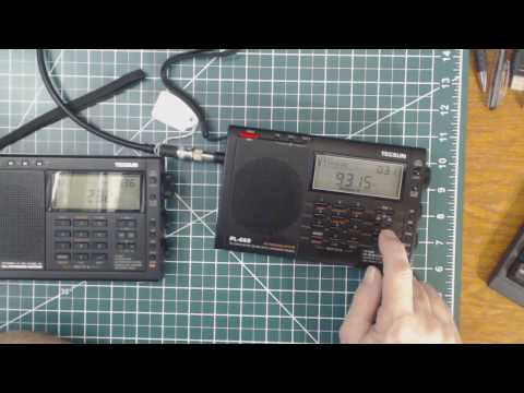 TRRS #1045 - Tecsun PL-660 Vs PL-680 Reception