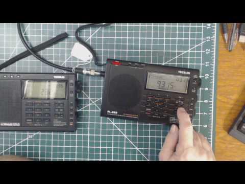 TRRS #1045 - Tecsun PL-660 Vs PL-680 Reception