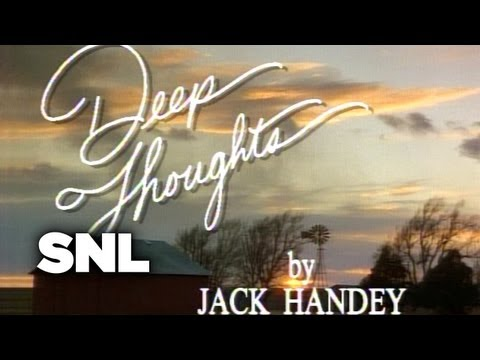 Deep Thoughts: Uncle Jerry - Saturday Night Live