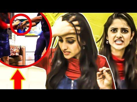 """""""YOU F**KING PSYCHO.."""" Prank Goes WRONG - SunTV Maya Serial Ayesha thumbnail"""
