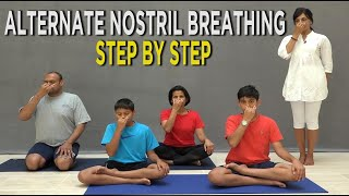 Alternate Nostril Breathing Step by Step