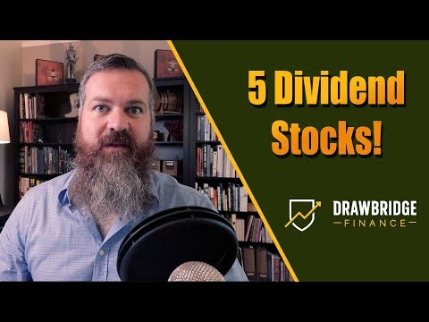 5 Dividend stocks I'm buying this Month!