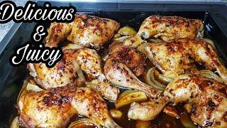 Juicy Oven Baked Chi¢ken Thighs | Oven Chicken