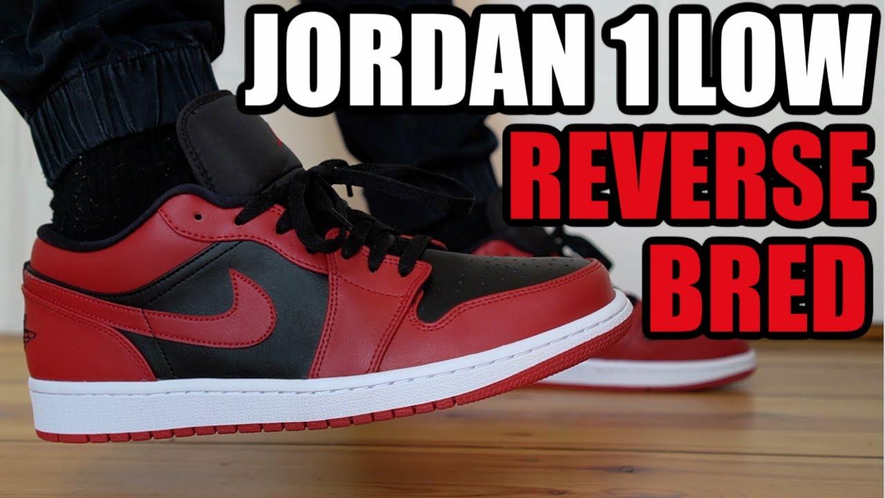 Air Jordan 1 Low GS 'Reverse Bred'