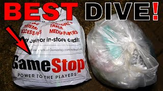Mega Jackpot!!! Gamestop Dumpster Dive Night #695