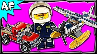 Lego City Swamp Police Water Plane Chase 60070 Stop Motion Build Review
