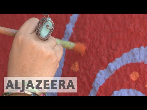 Lebanon street art: Beirut slum transformed with murals