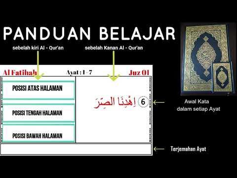PANDUAN BELAJAR | Hafal Letak dan Posisi Ayat-Ayat Al Qur'an | METODE AT-TAISIR