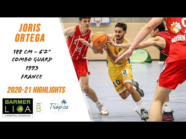 Joris Ortega 2020-21 BarmerLiga ProB Oberhaching Highlights