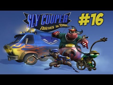 Sly Cooper: Thieves in Time Playthrough with Chaos part 16: Rail Grinding