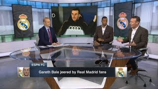 """Craig Burley """"explain why"""" Gareth Bale jeered by Real Madrid fans; Barca back in the top 1 La liga"""