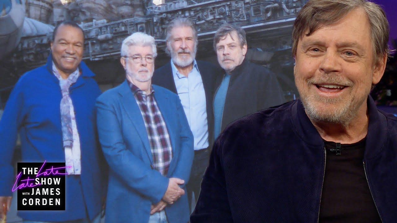 Mark Hamill Got Quite a Ride at Disneyland's Star Wars' Galaxy's Edge