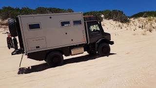 Robe to Beachport South Australia in a Unimog 4023 Expedition Truck