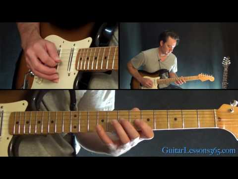 Comfortably Numb Instrumental Guitar Lesson - Pink Floyd