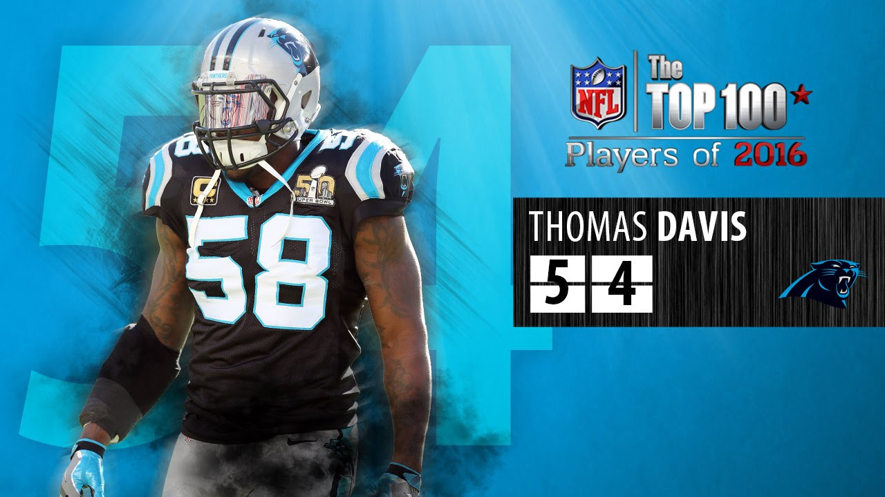 54 Thomas Davis LB Panthers
