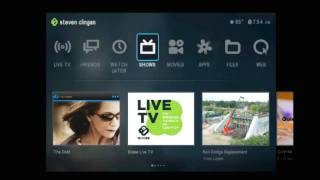 Boxee box 1.5 with LiveTV Demo