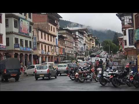 Downtown Thimphu