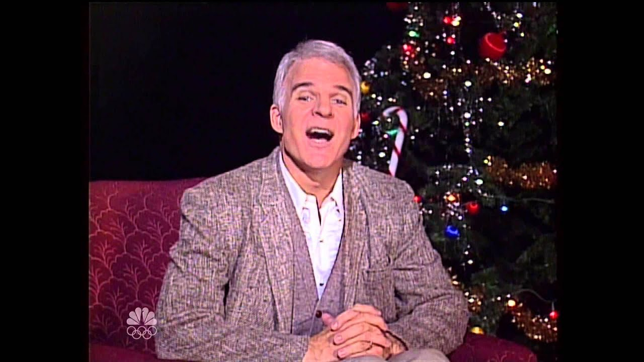 Saturday Night Live Steve Martin's A Holiday Wish - YouTube