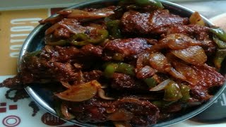 chilli chicken dry recipe restaurant style  how to make chilli chicken dry at home by Gkumar