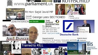 WWW Parliament UK Scams Deutsche Bank SOE cover ups HANSARD Blair Javid Cameron Cabinets