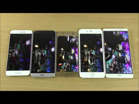 Latest Smartphones Battle