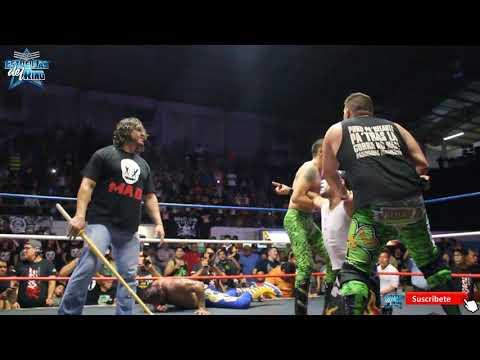 Rush y el Mesías vs Cibernético y Pierroth en Monterrey con KAOZ Lucha Libre
