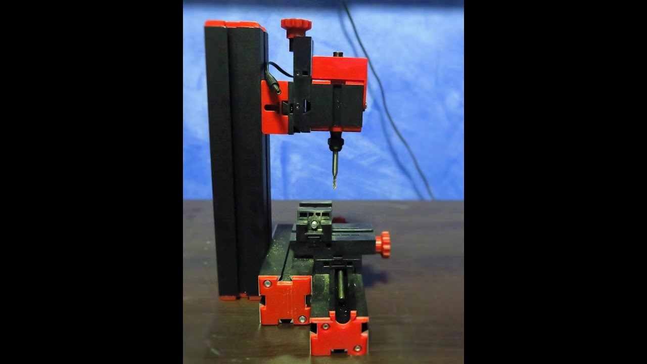 6 in 1 mini machine tool (Emco/Unimat knock off ) - Mini Mill in action -  does it work?