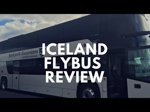 Flybus Review: Keflavik to Reykjavik