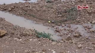 أمطار بين المجمعة وجلاجل