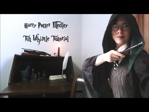 Harry Potter Medley Tin Whistle Tutorial Elise W Youtube