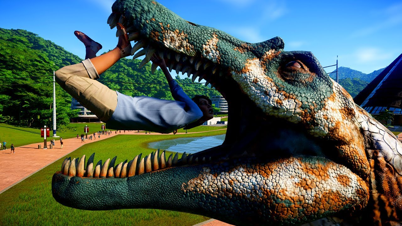 Spinosaurus vs T rex & Giganotosaurus Breakout and Battle ...Giganotosaurus Vs Spinosaurus