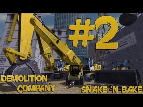 Demolition Company - Let's Play - Part 2 - Blowing Up Buildings & Destroying Police Stations