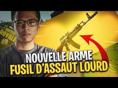 LA NOUVELLE ARME AK EST ULTRA FORTE SUR FORTNITE ! thumbnail