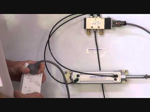 Serie A69 - 5 way 2 position solenoid valve - YouTube
