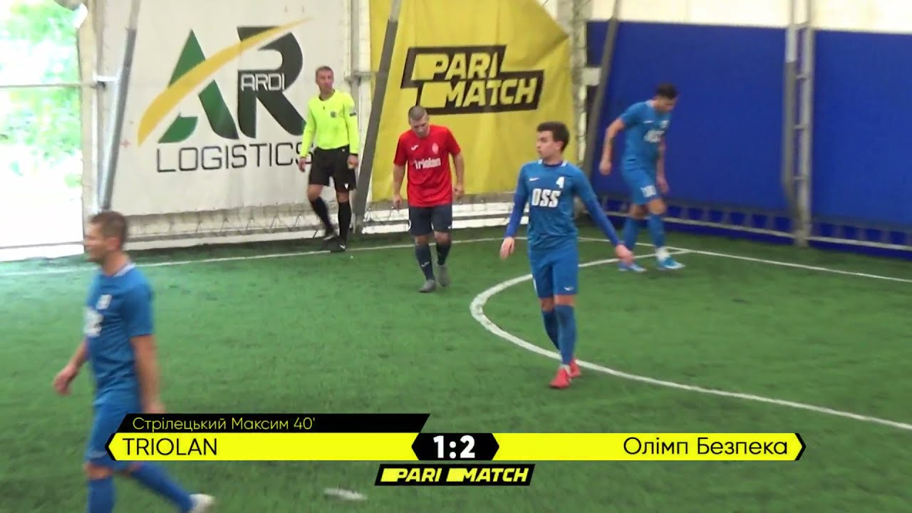 Огляд матчу | Triolan 2 : 2 Олімп Безпека | Parimatch League 2021
