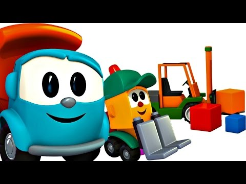 Leo le camion curieux leo junior dessin anim ducatif - Leo le camion benne ...