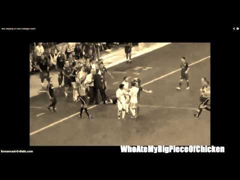 Jose Mourinho steps on Fabregas
