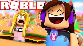MY BEST FRIEND IS TRYING TO EAT ME! (Roblox)