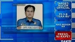 Saksi: Pulis, kulong matapos akusahan ng rape ng isang babaeng preso