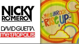 David Guetta & Nicky Romero vs Yves Larock - Metropolis Rise Up (Yanni S Mashup)