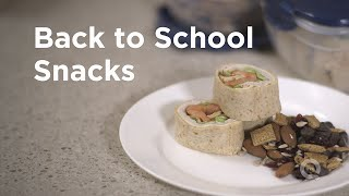 Back to School Snacks- In the Kitchen with David Venable