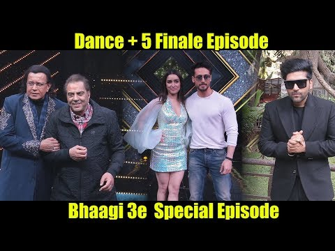 Dance + 5 Grand Finale | Bhaagi 3 Special Episode | Tiger Shroff, Shraddha Kapoor