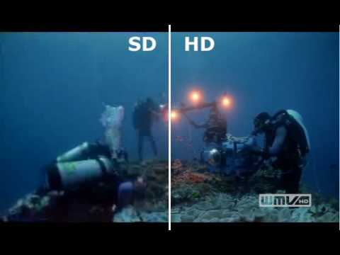 SD vs  HD in video resolution