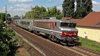Locomotives BB 15000 & Intercités Normandie