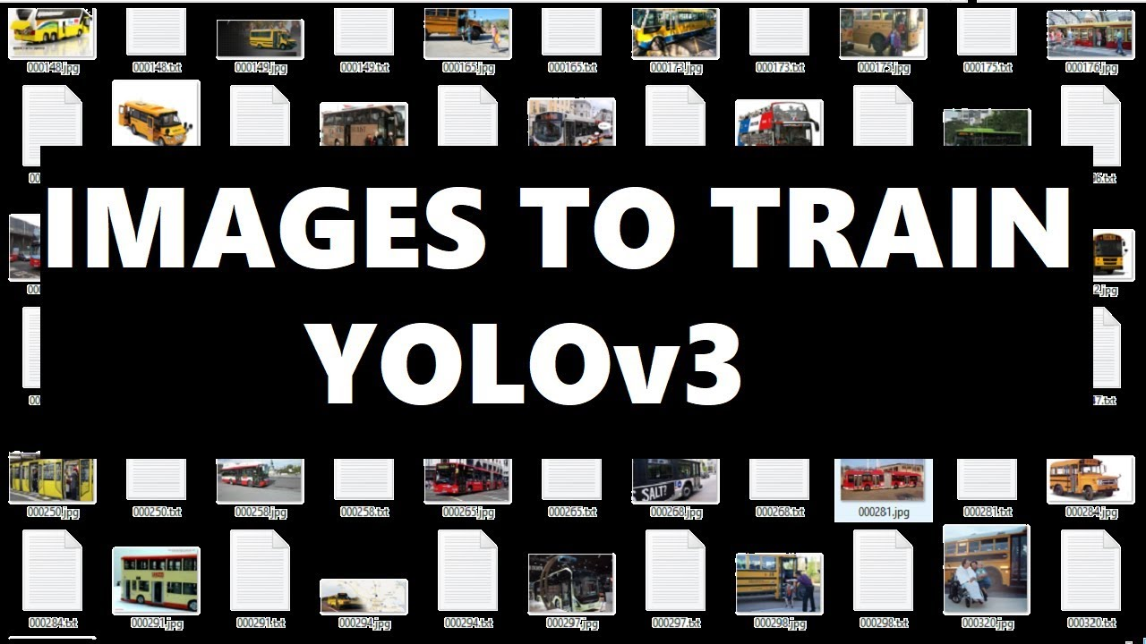 Train YOLOv3 to Detect Custom Objects: Collect Training Images || YOLOv3  Series 3