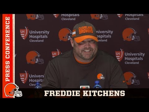 Nick Camino - Freddie Kitchens introduced as Browns head coach