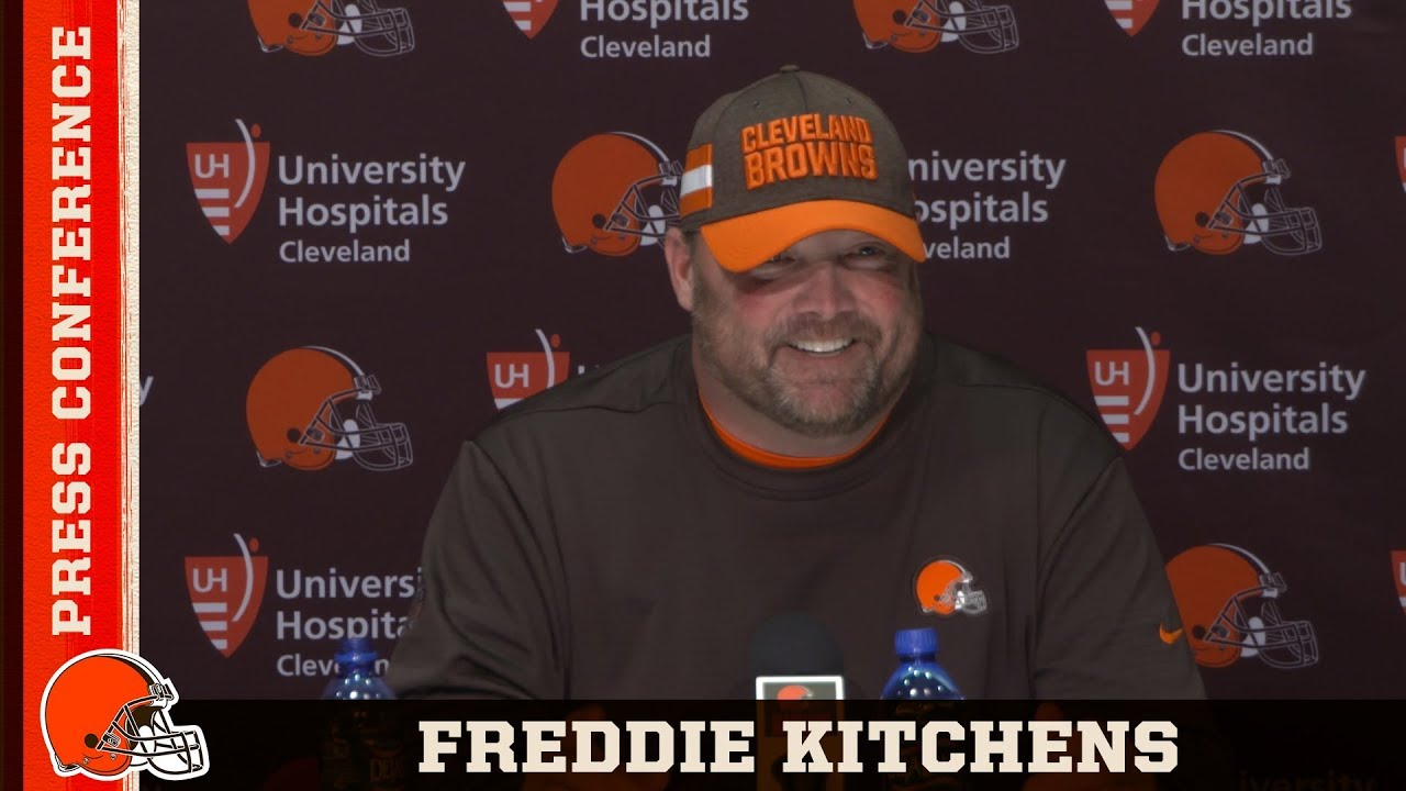 Freddie Kitchens 'John Dorsey is One of the Best in the Business'   Cleveland Browns