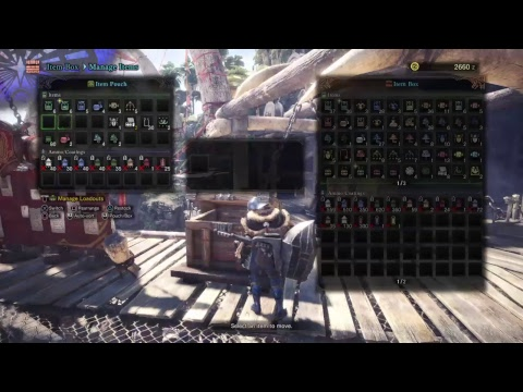MHWorld! Barroth reminds us about terrain being unsafe and to upg noob armor