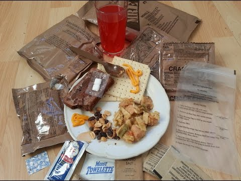 Sopakco U.S. Army MRE Menu 3: Chicken, Noodles and Vegetable in Sauce, Unboxing
