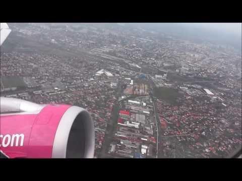 Debrecen felszállás Wizz Air Airbus A320 Take-off